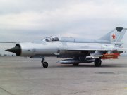 MiG-21 supersonic jet fighter aircraft