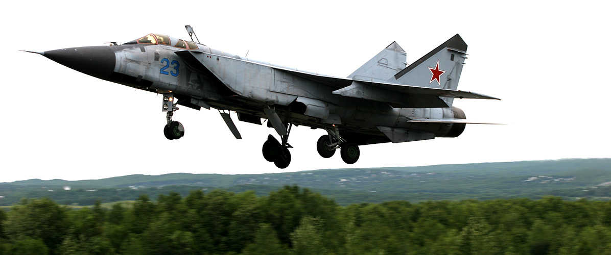 MiG-31BM upgraded supersonic fighter-interceptor